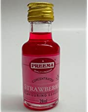 Preema Strawberry Concentrated Food Flavouring 28ml [Kitchen & Home]