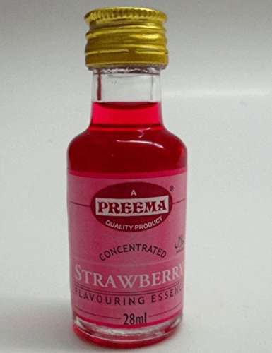 Preema Strawberry flavour essence 28ml x 3 [Kitchen & Home] ()