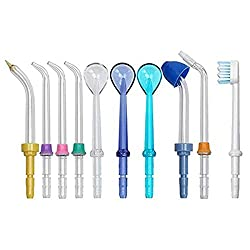 Oral Dental Tooth CleanTools for your Daily Life Oral dental care (replacement nozzles Classic Jet Tips,Water Flosser Oral Irrigator Nozzle Jet Tips with Replacement Brush Head Compatible for waterpik