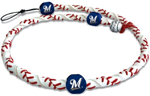 MLB Milwaukee Brewers Classic Frozen Rope Baseball (Bearcats Mens Leather)