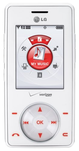 LG Chocolate VX8500 Phone, White (Verizon Wireless) ()