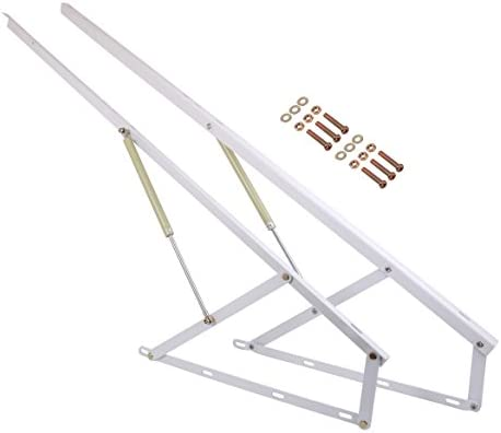 Brilliant Eclv 5Ft Hydraulic Bed Lift Mechanisms For Sofa Bed Box Storage King Queen Twin Space Saving Diy Project Hardware White Uwap Interior Chair Design Uwaporg