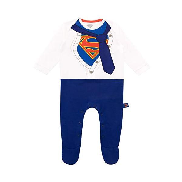 DC Comics Tutina da Notte e Cappello per Bambino Superman 2