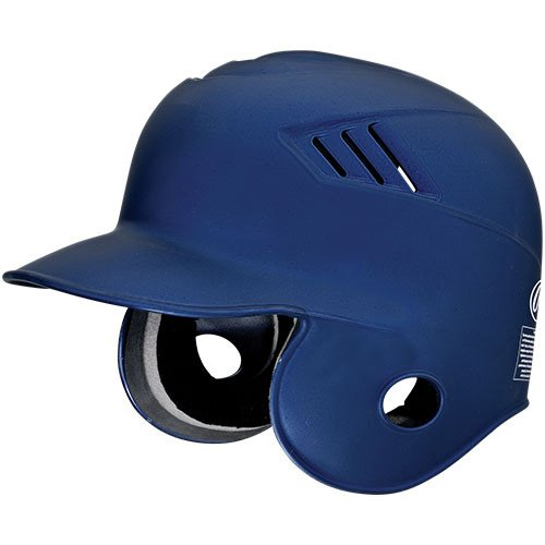 Rawlings Coolflo Matte Style Batting Helmet (Navy, Size Small (6 5/8 - 6 3/4))