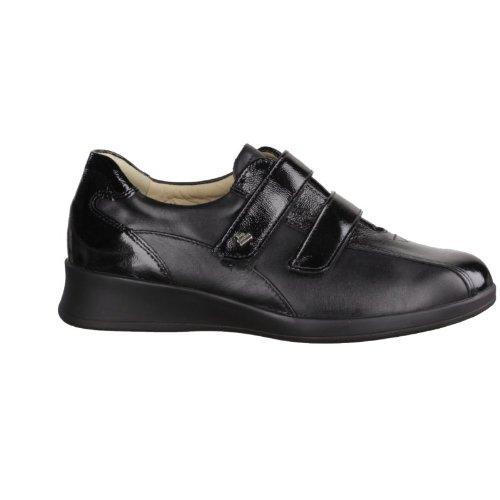 FinnComfort - Zapatillas de Piel para mujer Negro negro 37.5