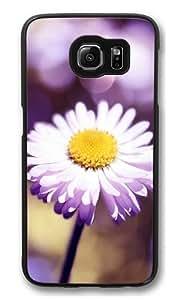 Bokeh flower Custom Samsung Galaxy S6/Samsung S6 Case Cover Polycarbonate Black
