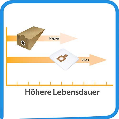 Aspirador con filtro tipo L 36 BV71/_99 10 bolsas de aspiradora adecuadas para Hoover Brave BV71/_BV00