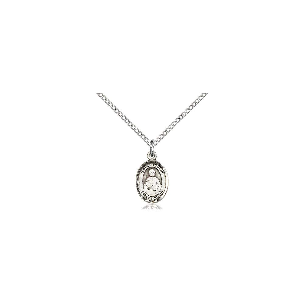 DiamondJewelryNY Sterling Silver St Philip The Apostle Pendant