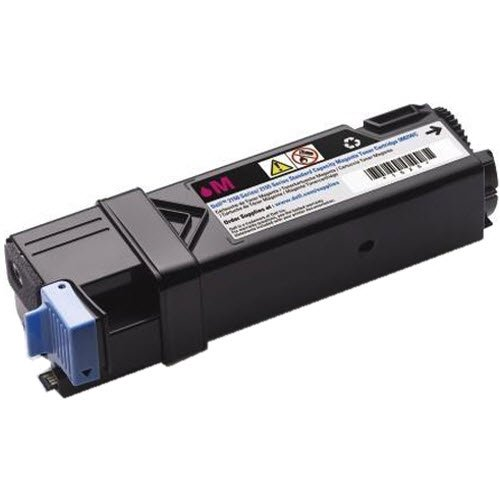 Original Dell 331-0714 Magenta Toner Cartridge for 2150cdn/ 2150cn/ 2155cdn/ 2155cn Color Laser Printer