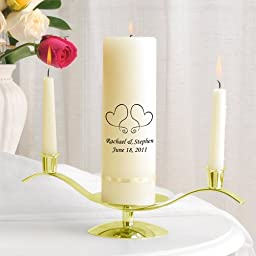 Premier Unity Candle and Stand Combo (QTY 1 SET)