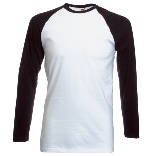 White And Black Long Sleeve Shirt | Artee Shirt