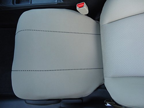 Fits All Ford Explorer SUV Neoprene Bucket Seat Cover (Bottom Seat Only) with Accent Stitching will Protect New or Restore Worn Out Seats: Price is for 1