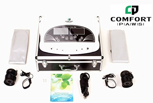 Comfort Paws Professional Pedicure Foot Detox Spa Machine...