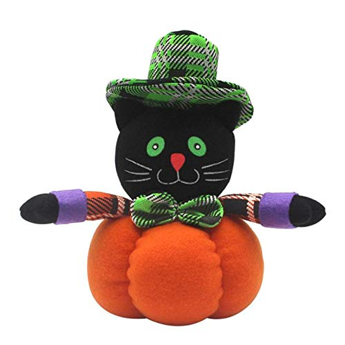 Wall of Dragon Pumpkin Witches Elastic Cotton Plush Toy Dolls Ornaments Halloween Decoration 7choices Avaialble Halloween Craft Supplies
