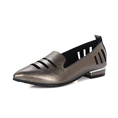 La versión coreana de la primavera en punta y zapatos de verano/crudo con baja zapatos corte bajo/Zapatos calados/zapatos casuales B