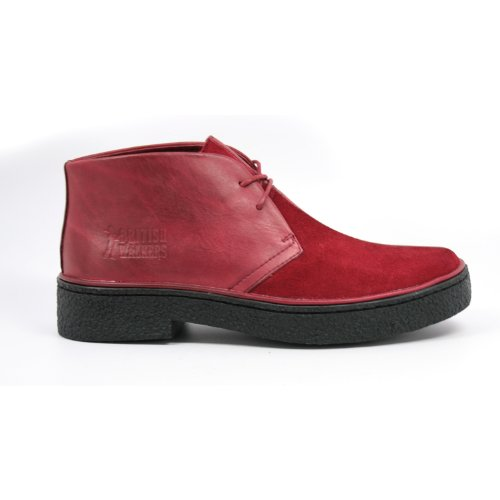 find great for sale The Original British Walkers Men's Playboy High top Chukka Boot Wine/Wine buy cheap footlocker finishline find great sale online cheap visit new clearance release dates js2h6Ml