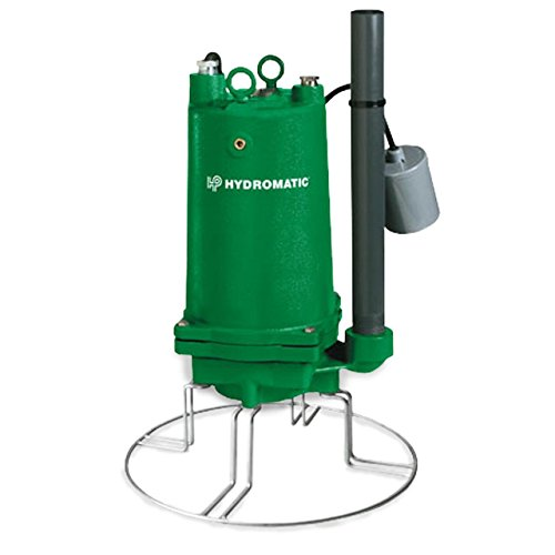 Hydromatic-HPGR200M2-2-Single-Seal-High-Head-Sewage-Pump-2-HP-Cast-Iron-Tethered-Switch-1-14-Inch-Discharge