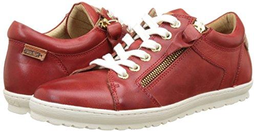 Para Pikolinos Rojo Mujer coral 901 Zapatillas Lagos tpqrpzB
