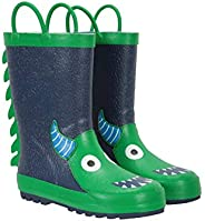 Mountain Warehouse Character Junior Kids Waterproof Rain Boots