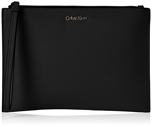 Femme Noir Noir Calvin Pouch Handbag Black Klein Edit wTCTxqtfXR
