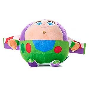 Cuddle Pal Stuffed Animal Plush Toy Mini with Jingle, Disney Baby Toy Story Buzz Lightyear, 4.5 Inches