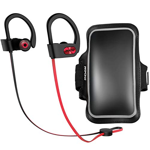 Mpow D3 Bluetooth Headphones with Phone Armband, IPX7 Waterp