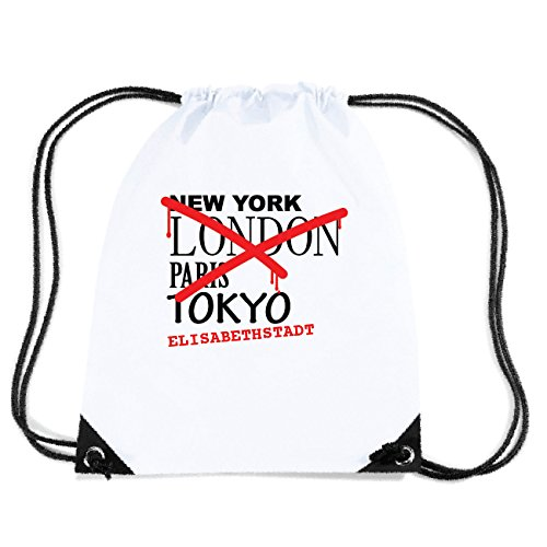JOllify ELISABETHSTADT Turnbeutel Tasche GYM4220 Design: Graffiti Streetart New York