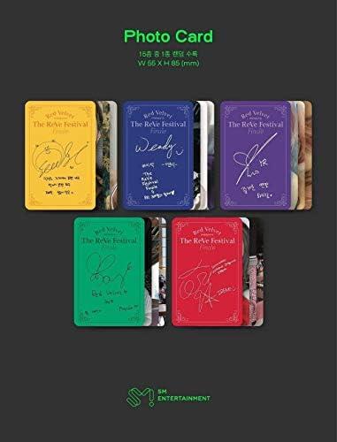 [Reissue] RED VELVET - The ReVe Festival Finale [Scrapbook ver.] Album+Extra Photocards Set