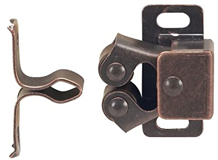 Hardware House 64-4567 Contractor Pack Roller Catch 10-Pack Brown