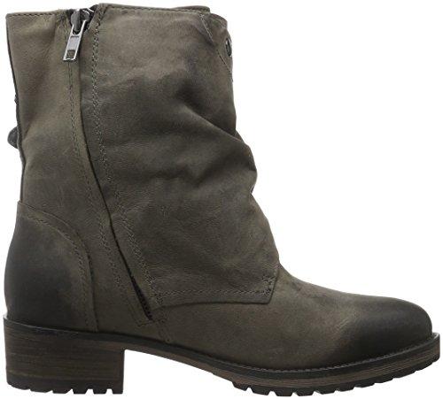 Grey Bottes Gris Boot Pms dk Motardes Femme 012 Ankle Iyam 4PtqwF8