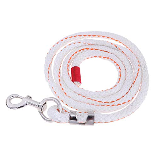 (Value-5-Star - Equestrian Roping Rein with Snap Hook Horse Pets Lead Rope Training Aid Tool 2m Long)