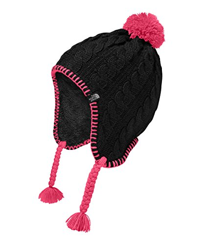 The North Face Girls' Fuzzy Earflap Beanie (Sizes S - XL)