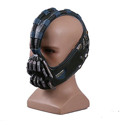 Molagogo Batman The Dark Knight Rises 3/4 Bane Mask Cosplay Prop Halloween Xmas Costume