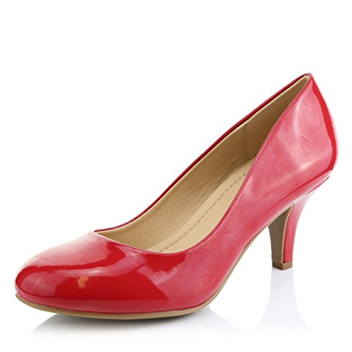 DailyShoes-Womens-Comfortable-Elegant-High-Cushioned-Casual-Low-Heels-Formal-Office-Lady-Round-Toe-Stiletto-Pumps-Shoes-Red-Patent-Leather-85-BM-US