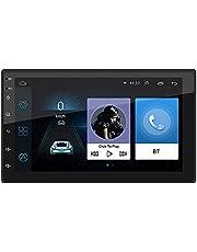Domary 9210S Car Entertainment Multimedia System Car Radio 4 Cortex-A7 7 polegadas HD Touchscreen 2 Din Android Reprodutor de vídeo multimídia MP5 Player FM/BT/Wifi/GPS/USB/AUX 1G + 16G