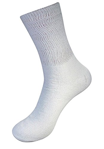 lot-of-3-pairs-mens-white-diabetic-socks-loose-fit-big-size-13-15-blue-label