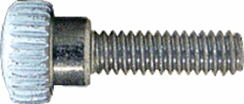 CRL White 8-32 x 9/16' Knurled Thumb Screws by CR Laurence (Image #2)