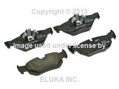 BMW Genuine Rear Brake Pad Set for 128i X1 28i X1 28iX 128i 323i 325i 325xi 328i 328xi 323i 328i 328xi 325xi 328i 328xi 328i 328xi 328i 328xi 328i 328xi 328i 328i E82 E84 E88 E90 E90N E91 E91N E92 E92N E93 E93N
