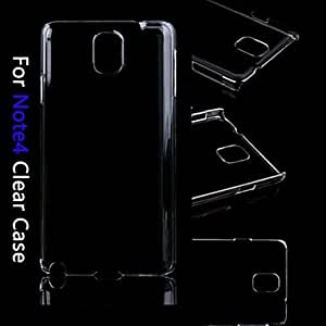 HP Transparent Crystal Clear Hard Back Case for Samsung Galaxy Note 4