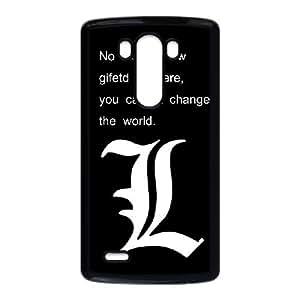 LG G3 Cell Phone Case Black Death Note WMC Phone Case Plastic Custom