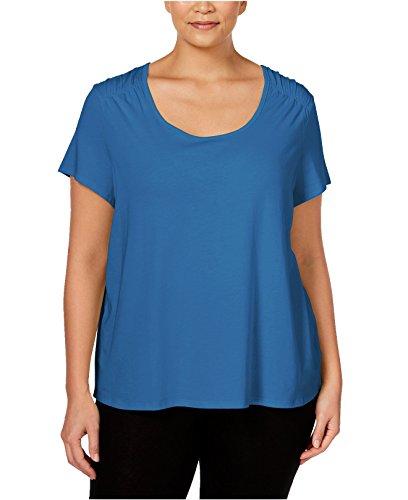 Nautica-Womens-Plus-Size-Short-Sleeve-Pajama-Top