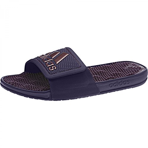 great fit 67b04 1a949 adidas Adissage 2.0 Logo, Zapatos de Playa y Piscina para Hombre Azul  (Noble Ink