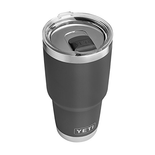 YETI Rambler 30 oz Stainless Steel Vacuum Insulated Tumbler w/MagSlider Lid, Charcoal