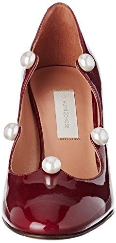 L'Autre Chose Women's Pump Closed Toe Heels Red (Bordeaux 4041) 7vLWG