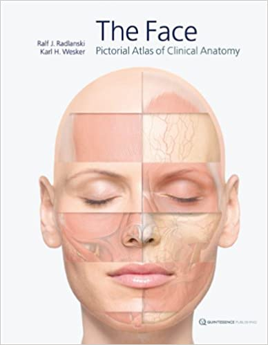 The Face Pictorial Atlas Of Clinical Anatomy 9781850972143