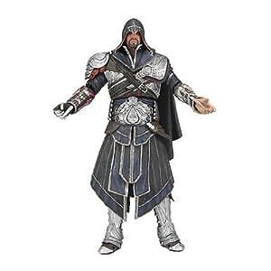 Assassins Creed La Hermandad Ezio 17,5 cm Figuras de Acción (Onyx traje con capucha)