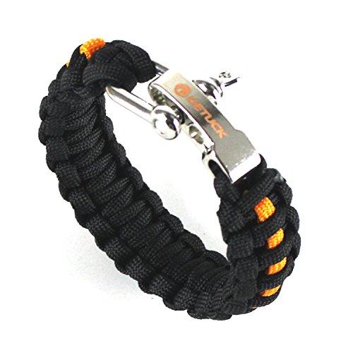 DETUCK Survival Bracelet Adjustable Paracord