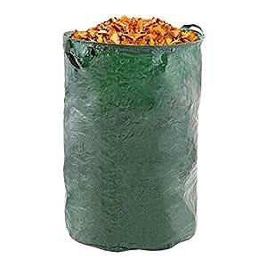 Garden Waste Bags Heavy Duty Reusable Yard Leaf Bag, Lawn Pool Probiotic Bag Compost Bag -Durable & Portable Garden…