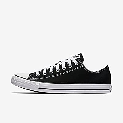 Converse Chuck Taylor All Star Low Top Unisex Canvas Oxford Shoes (4 Mens D(M) US/6 Womens B(M) US, Black)