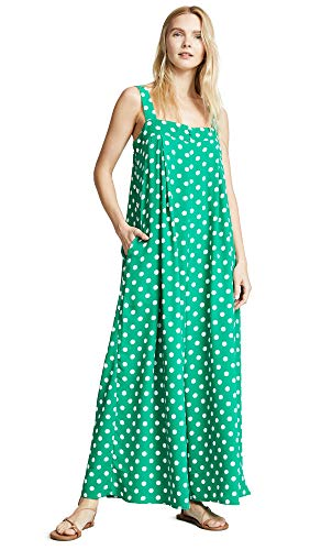 English Factory Women's Wide Leg Jumpsuit, Green, Medium